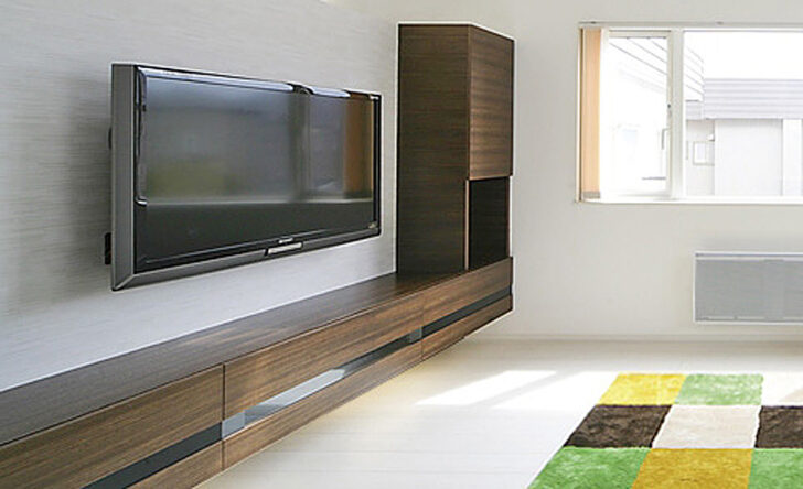 7393ab53e09ef5f4df51be068b8454c7 おしゃれなテレビボードをあなたの家に【フロートテレビボード17例】