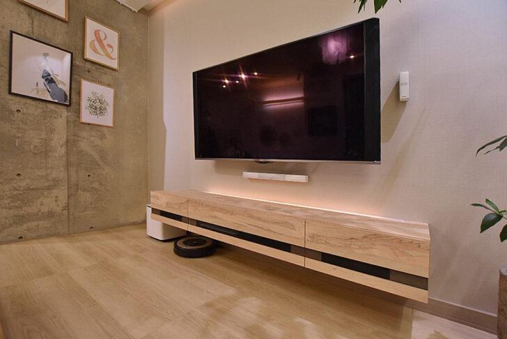 テレビボードデザイン及び施工例