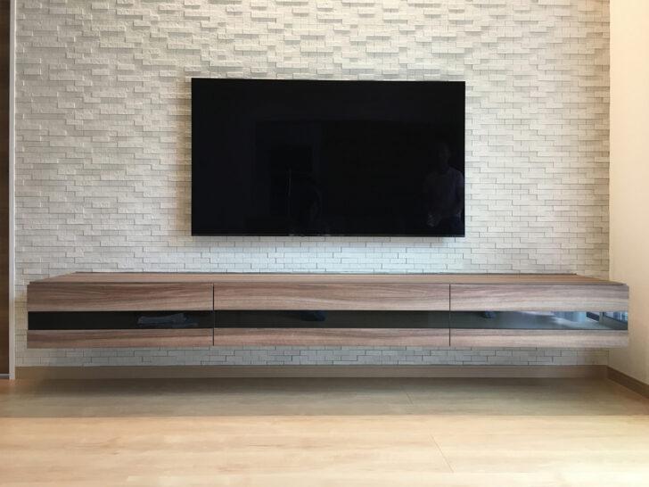 フロートテレビボード ウォールナット