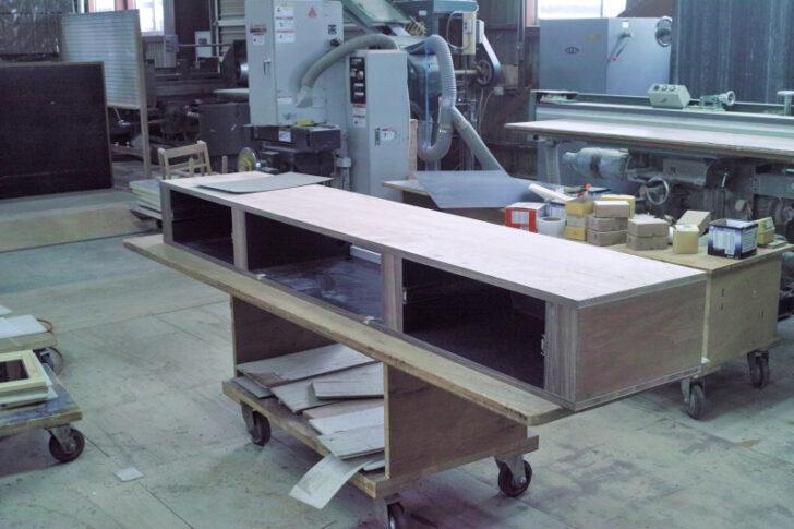 フロートテレビボード製作